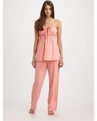 Cottonista Camisole Pajama Set - Lyst