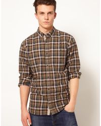 French Connection Checked Shirt - Lyst