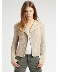 Goddis - Knit Sweater Jacket - Lyst