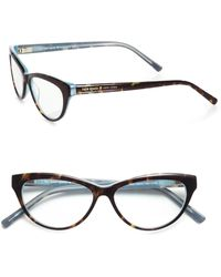 Kate Spade Abena Cat'S-Eye Reading Glasses - Lyst