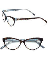 Kate Spade Abena Cat'S-Eye Reading Glasses - Lyst