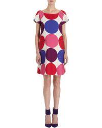 Lisa Perry Reversible Aline Dress - Lyst