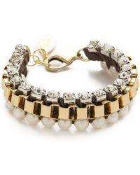 Adia Kibur - Chiffon Chain Bracelet - Lyst