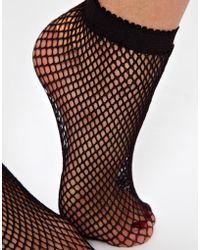 American Apparel | Fishnet Socks | Lyst