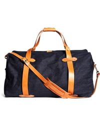 Brooks Brothers - Filson® Denim Duffle Bag - Lyst
