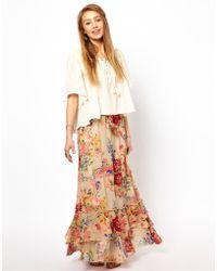 Denim & Supply Ralph Lauren - Fluted Maxi Skirt - Lyst