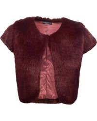 James Lakeland - Faux Fur Gilet - Lyst