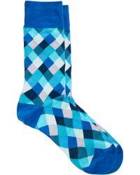 Paul by Paul Smith - Paul Smith Harlequin Socks - Lyst
