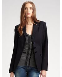 D&G Blue Tailored Jacket - Lyst