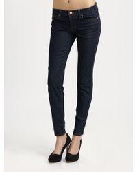 J Brand 910 Lowrise Skinny Jeans - Lyst