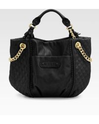 Juicy Couture Brogue Leather Duchess Tote Bag - Lyst