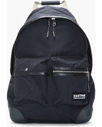 e7ec4e6a17a2 Kris Van Assche - Black Leathertrimmed Backpack and Tablet Case - Lyst