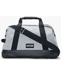 Kris Van Assche - Heather Grey and Leather Convertible Duffle Bag and Tablet Case - Lyst