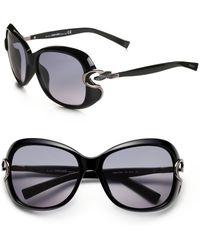 Roberto Cavalli Oversized Sunglasses - Lyst