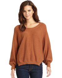 Aro - Esther Ribbed Knit Dolman Sweater - Lyst