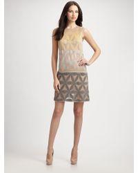 Missoni Lurex Floral Sleeveless Dress - Lyst