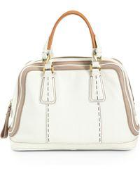 orYANY | Maxine Top Handle Bag White | Lyst