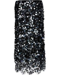 Clements Ribeiro | Sequin Lace Skirt | Lyst
