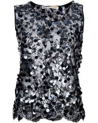 Clements Ribeiro - Sequined Lace Tank - Lyst