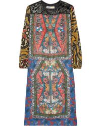 Clements Ribeiro | Amelia Printed Silk Dress | Lyst