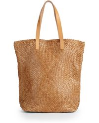 Massimo Palomba - Cancun Woven Leather Tote - Lyst