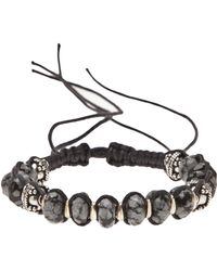 Stones Of Character - Spotted Onyx Bracelet - Lyst