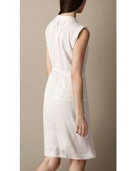 Burberry Brit - Layered Panel Dress - Lyst