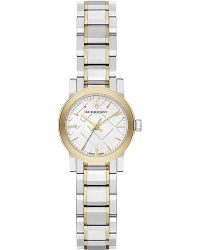 Burberry Ladies Mini Two-Tone Bracelet Watch silver - Lyst