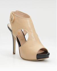 Jerome C. Rousseau Hamlet Cutout Ankle Boots - Lyst