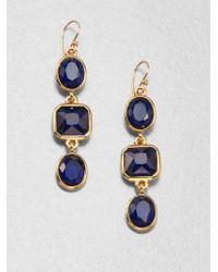 Kate Spade - Geometric Drop Earrings - Lyst