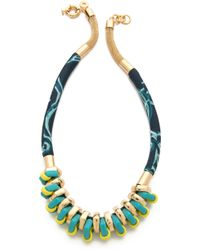 Marc By Marc Jacobs - Multi Woven Bolt Necklace - Lyst