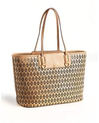 Sam Edelman Marina Perforated Tote Bag - Lyst