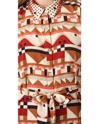 Viva Vena | Quickstop Shirtdress with Cutout Back | Lyst