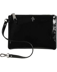 203b91418f Cole Haan - Medium Patent Leather Zip Pouch - Lyst