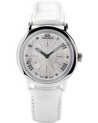 88 Rue Du Rhone - 87wa120008 Women's Diamond Set Dial Alligator Leather Strap Watch - Lyst