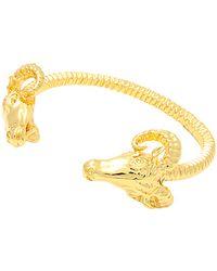 Black Scale - The Ram Bracelet in Gold - Lyst