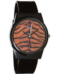 Flud Watches - The Pantone Watch in Tiger Black - Lyst
