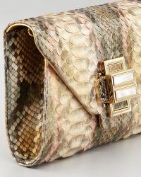 Kara Ross - Electra Vintage Python Clutch Bag - Lyst