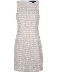 Theyskens' Theory Sleeveless Mini Dress - Lyst