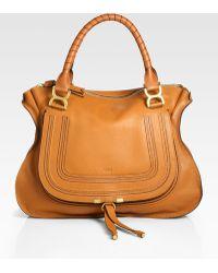 Chloé Marcie Large Shoulder Bag - Lyst