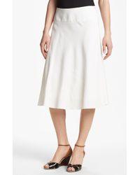Nic + Zoe Summer Fling Flirt Skirt white - Lyst