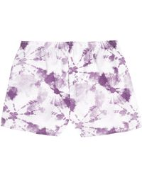 Topman Purple Tie Dye Woven Underwear - Lyst