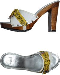 Redwall Platform Sandals - Lyst