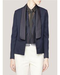 3.1 Phillip Lim Woolblend Tuxedo Jacket blue - Lyst