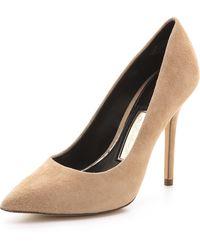 Boutique 9 - Justine Suede Court Shoes - Lyst
