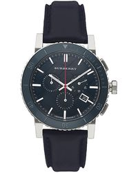 Burberry - The City Chronograph Watch - Lyst