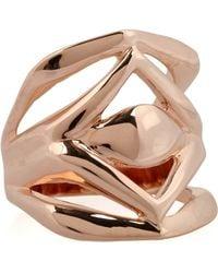 Dominic Jones - Verona 23karat Goldplated Ring - Lyst