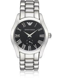 Emporio Armani - Stainless Steel Bracelet Watch - Lyst