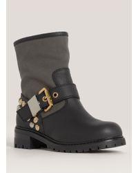 Giuseppe Zanotti Blok Studded Boots - Lyst
