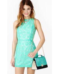 Nasty Gal Ivy Lace Dress - Lyst